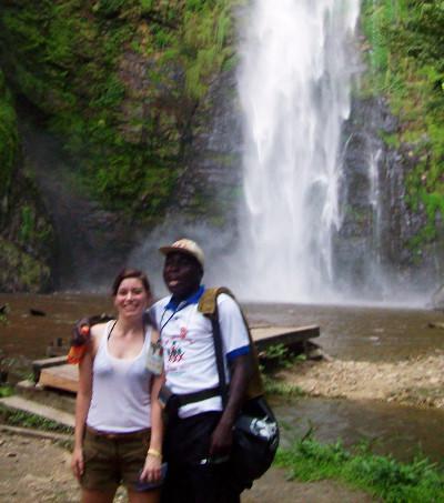 At Wli waterfall