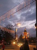Brasov by night