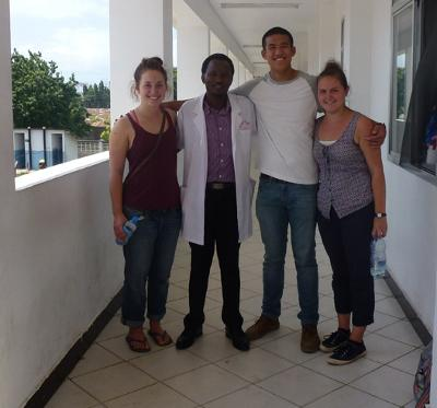 Volunteers in Tanzania