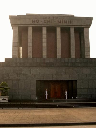 Volunteer trip to Ho Chi Minh Mausoleum in Vietnam