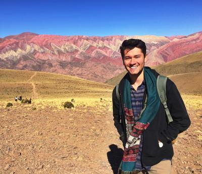 Exploring the scenery in Peru