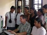 Me teaching at IT Centre