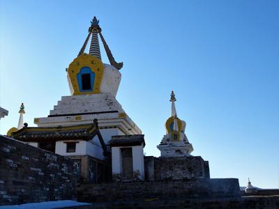 Scenery in Mongolia
