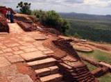 Visiting Sigiriya rock