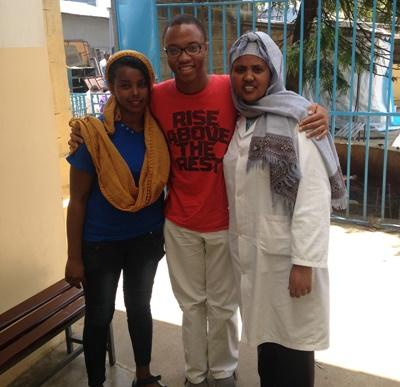 Volunteers in the Ethiopian Medicine Placement
