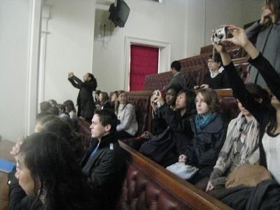 Visit to parliament