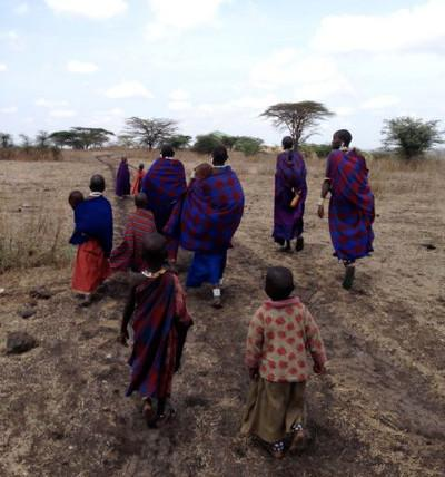 Locals in Tanzania