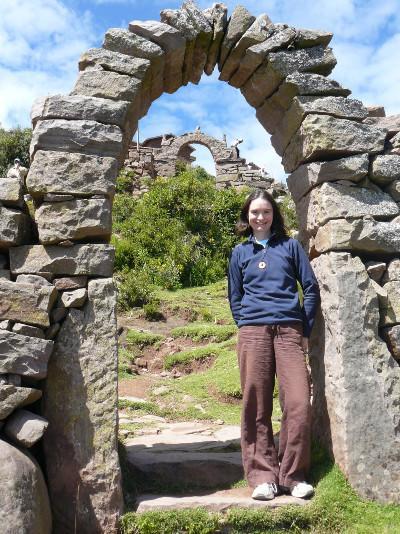 Visiting ruins