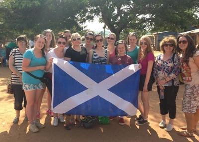 Ghana group volunteer trip