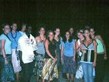 Volunteer group in Cape Coast
