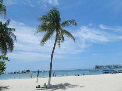 Beach time in Jamaica