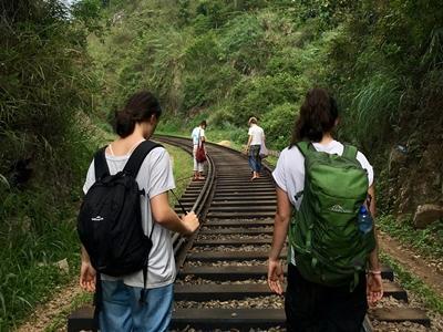 Volunteers exploring Sri Lanka