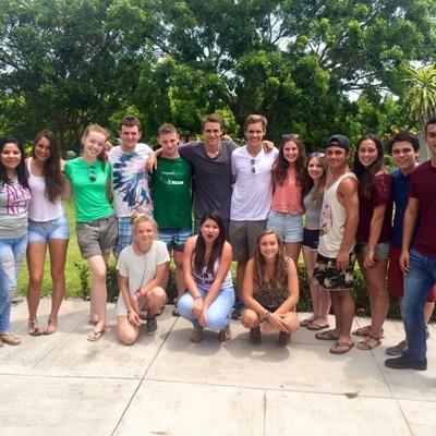 Volunteers in Mexico