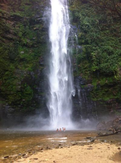 Trip to Wli Falls