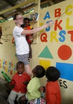 Teaching the children