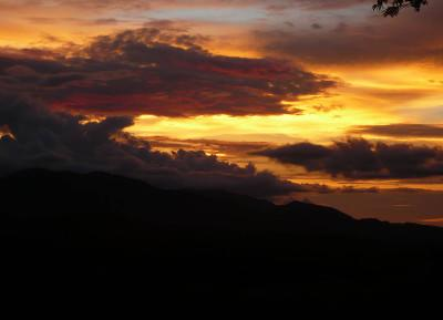 Costa Rican sunset