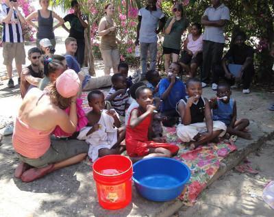 Volunteer dentistry equipment donation in Tanzania
