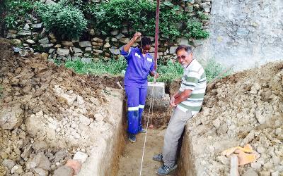 Receiving guidance from an engineer