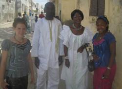Senegalese dress