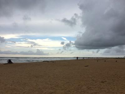 A beach in Sri Lanka