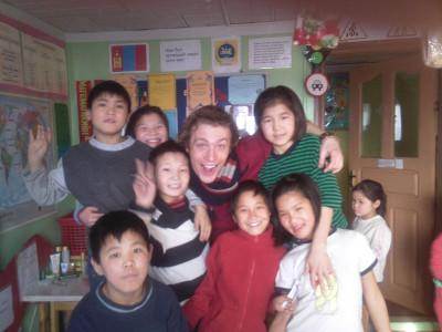 With children at my placement