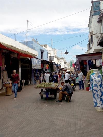 A local market in Morocco
