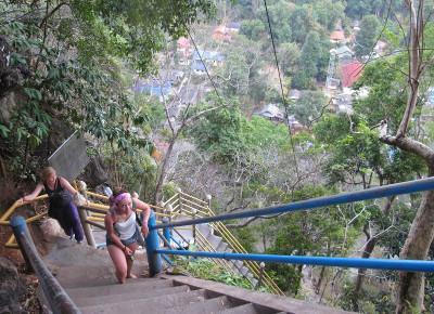 Climb up Tiger Temple
