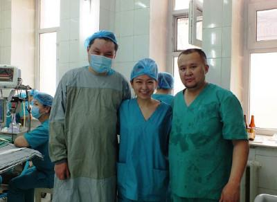 Medical project Mongolia