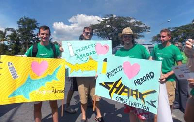 Shark Conservation Awareness in Fiji