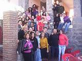 Argentina volunteers with our host families