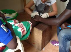 Voluntary care project Senegal