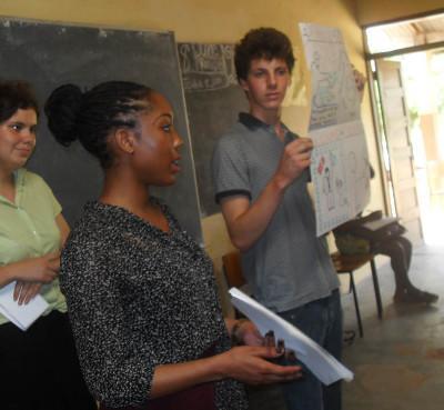 Voluntary human rights project Ghana