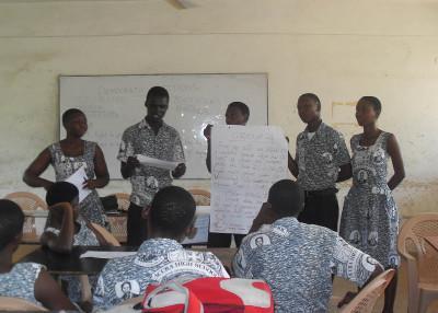 Volunteer human rights project Ghana