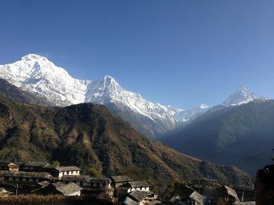 Scenery in Nepal