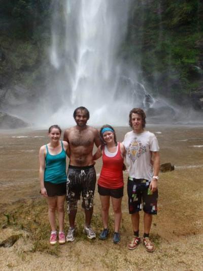 Waterfall visit