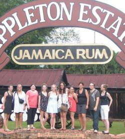 Trip to rum factory