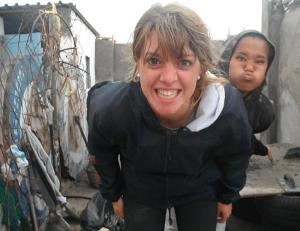 Volunteering in a township