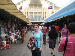 Visiting the market