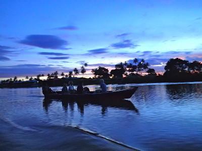 Morning trips in Fiji