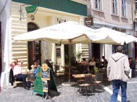 Restaurant in Brasov old town