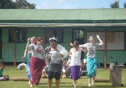 Fiji volunteers