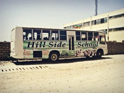 Hillside school bus