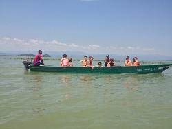 Boat trip Kenya