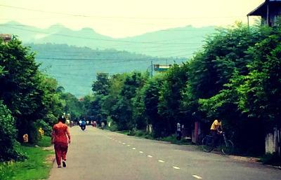 Walking in Chitwan