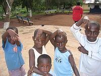 Children in Kwamoso