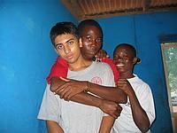 John, Kofi and I
