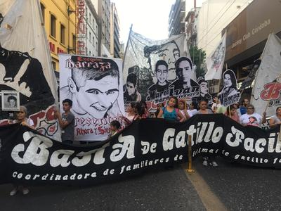 A march in Argentina