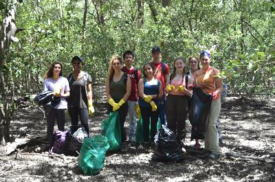 Conservation project in Costa Rica