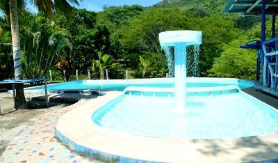 Pool time at Bara Honda National Park