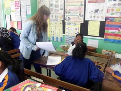 Voluntary teaching project South Africa